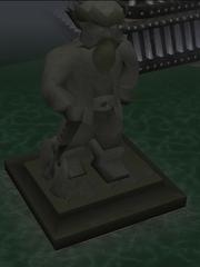 Keldagrim The Giant Dwarf standbeeld