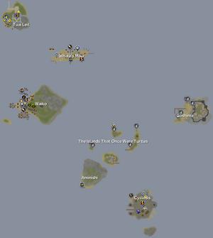 O Arco mapa