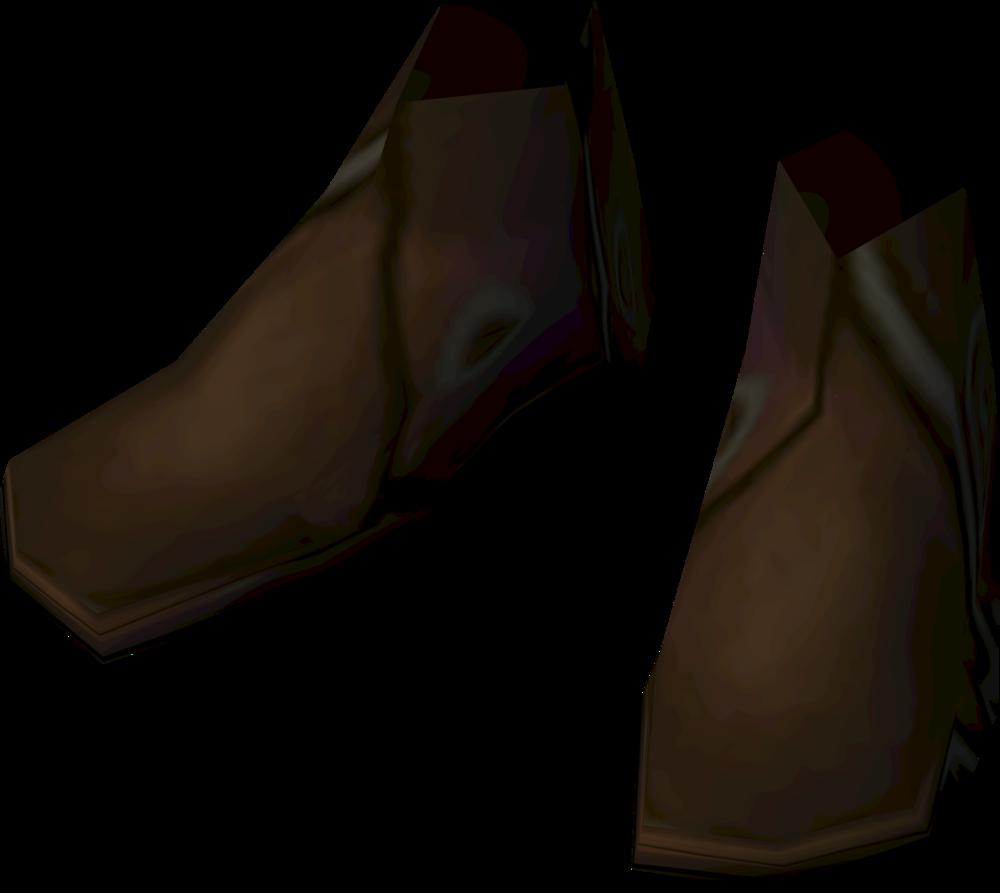 Prifddinian musician's boots detail
