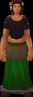 Retro fine skirt