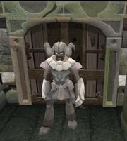 Summoning door