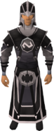Void knight ranger helm equipped