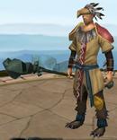 Armadylean shaman