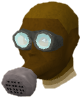 Gas mask chathead