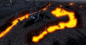 Lava Maze entrance