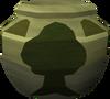 Plain woodcutting urn (r) detail