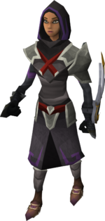 Ranged armour trader