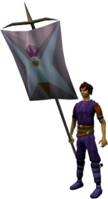 Banner (Fairy) equipped