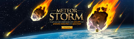 Meteor Storm head banner