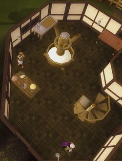Pie Shop interior