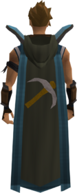 Retro hooded mining cape (t) equipped