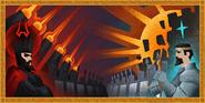 Siege of Falador tapestry