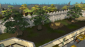 Varrock Palace yew trees.png