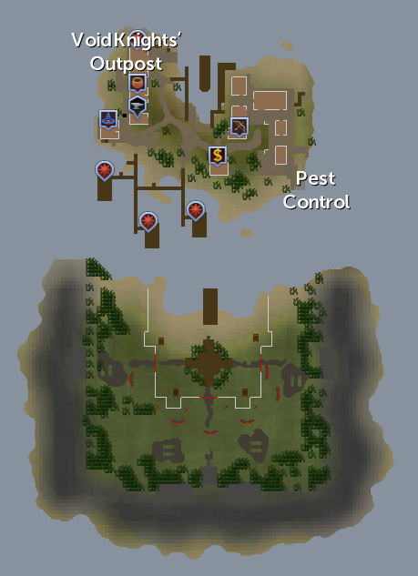 Void Knightsu0026#039; Outpost Map