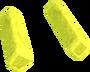 Yellow diamond key detail