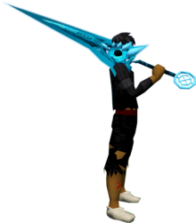 Zaros godsword (ice) equipped