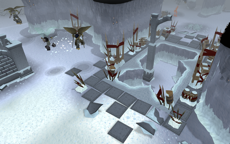 Armadyl's Eyrie entrance old