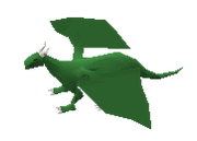 Classic green dragon