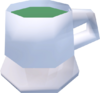 Cup of tea (Nettle tea) detail