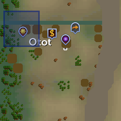 Fourth stone fragment location