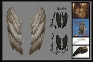 Freefall wings concept art