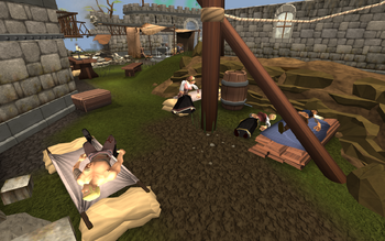 Lumbridge wounded camp