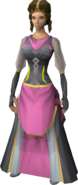 Monarch outfit equipped (female)