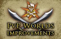 PvP world improvements