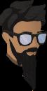 Sunglasses (white) chathead