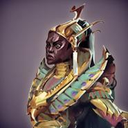 Comandante Akhomet arte