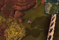 Compass clue Al Kharid west of Mage Training Arena.png