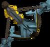 Exquisite crossbow detail