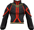 First tower robe top (red) detail.png