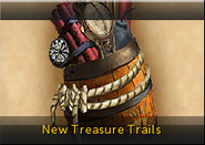 New Treasure Trails lobby banner
