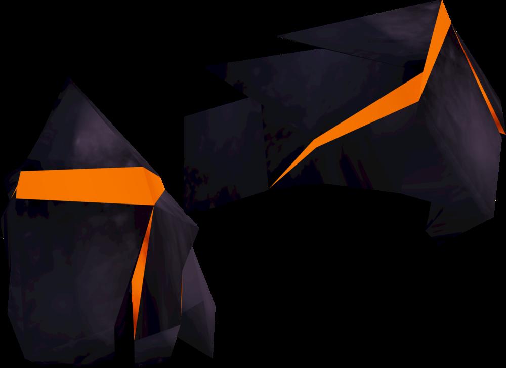 Obsidian gloves detail