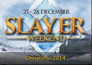 Slayer weekend lobby banner 2