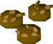 Worm crunchies detail