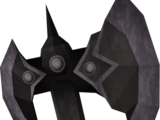 Black battleaxe