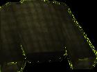 Black top robe detail old