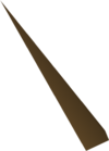 Bronze dart tip detail
