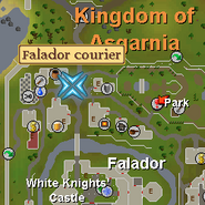 Falador Courier Location