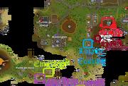 O tesouro do pirata mapa 1