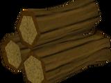 Pyre logs