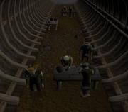 Saindo dos Trilhos escavação