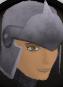 Steel helm chathead