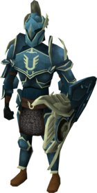 Armadyl armour set (lg) equipped
