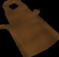 Brown apron detail