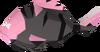 Burnt cavefish detail