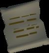 Daniel's letter detail