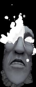 Dead moai